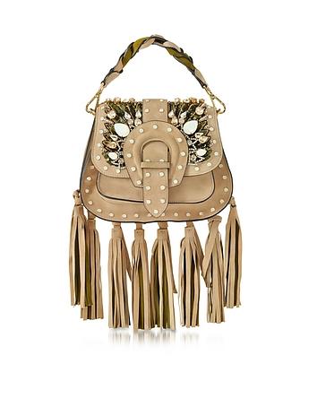 Alice Small Sahara Suede Handbag