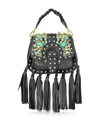 Alice Small Black Leather Handbag