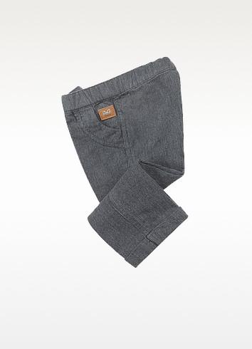 Corduroy Print Drawstring Pants - Dolce & Gabbana