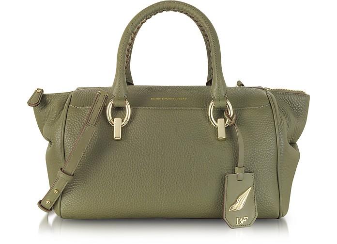 Sutra Small Leather Duffle Bag - Diane Von Furstenberg