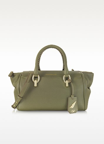 Sutra Small Leather Duffle Bag - Diane Von Furstenberg