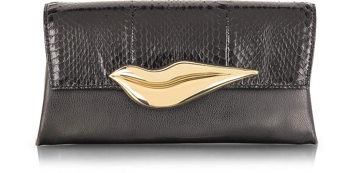 Flirty Envelope Snake Clutch - Diane Von Furstenberg