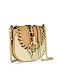 Sutra Mini Leopard Laced Canvas Crossbody Bag - Diane Von Furstenberg