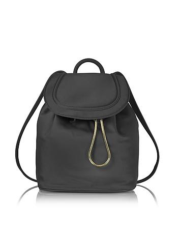 Diane Von Furstenberg - Satin Backpack w/Drawstring Flap Closure
