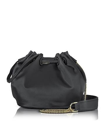 Diane Von Furstenberg - Love Power Satin Mini Bucket Bag