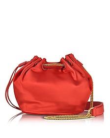 Love Power Satin Mini Bucket Bag - Diane Von Furstenberg