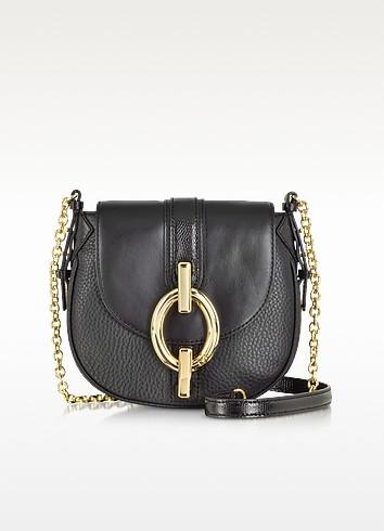 Sutra Mini Mixed Leather Crossbody Bag - Diane Von Furstenberg