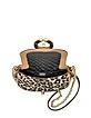 Sutra Mini Leopard Jacquard Crossbody Bag - Diane Von Furstenberg