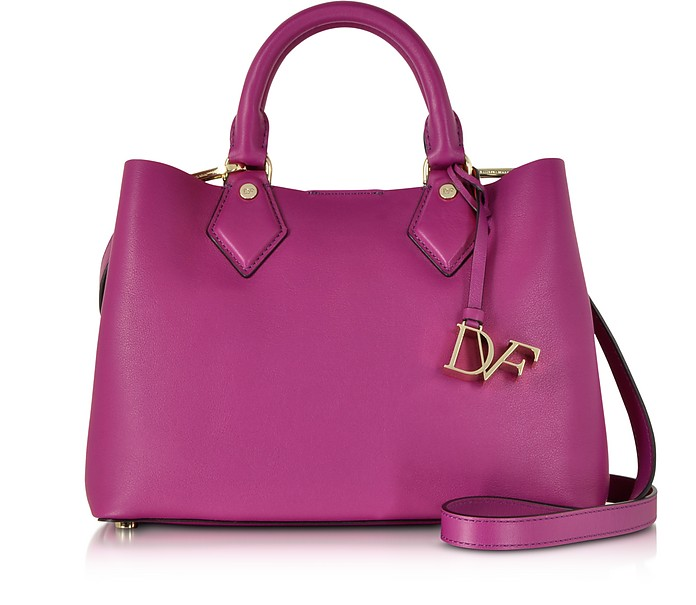 Voyage Small Leather Carryall Tote - Diane Von Furstenberg