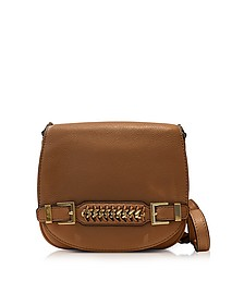 Iggy Leather Saddle Bag - Diane Von Furstenberg
