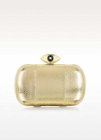 Evil Eye Gold Snake Minaudiere - Diane Von Furstenberg
