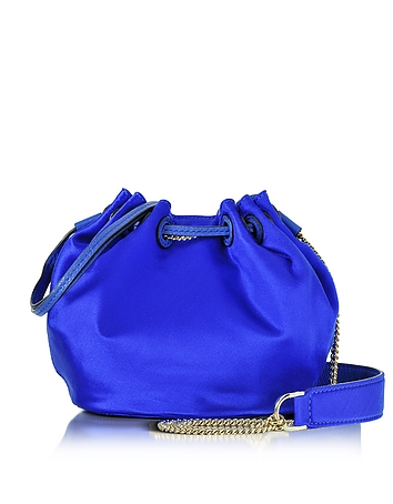 Diane Von Furstenberg Love Power - Mini Sac Seau en Satin