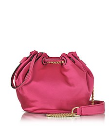 Love Power - Mini Sac Seau en Satin - Diane Von Furstenberg