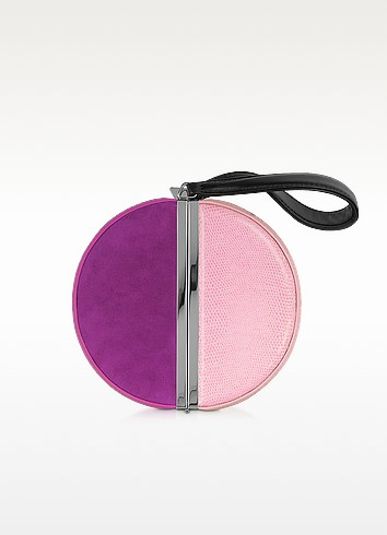 Color Block Circle Box Clutch - Diane Von Furstenberg