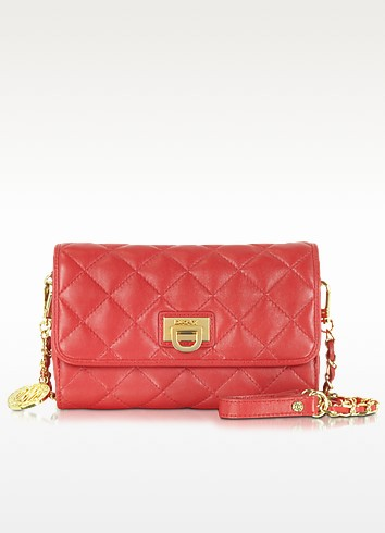 Gansevoort Small Quilted Leather Shoulder Bag - DKNY