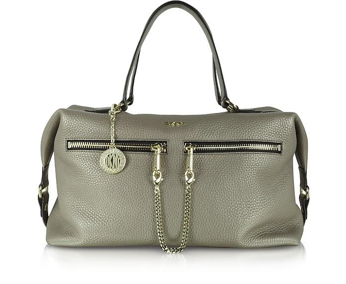 Tribeca Desert Leather Satchel - DKNY