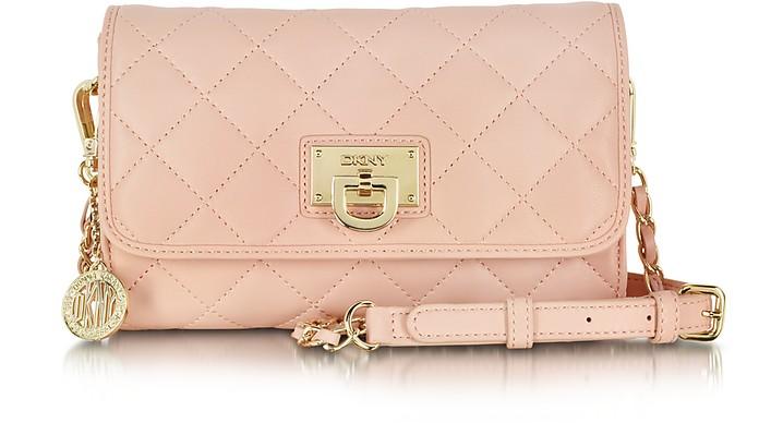 Gasenvort Blush Quilted Nappa Shoulder Bag - DKNY