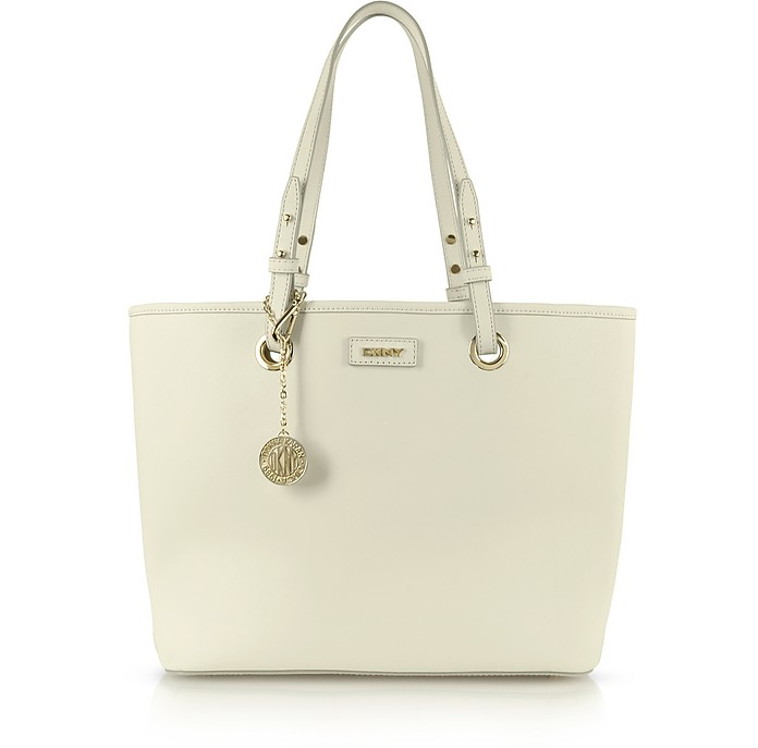 Bryant Park Item Saffiano Leather Shopper - DKNY