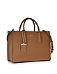 Bryant Park Tan Saffiano Leather Tote Bag - DKNY
