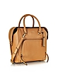 Chelsea Vintage Style Copper Leather North/South Satchel Bag - DKNY