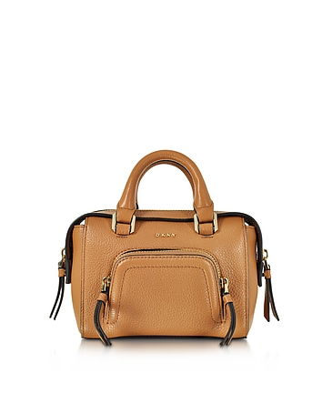 Chelsea Vintage Style Copper Leather Mini Satchel Bag