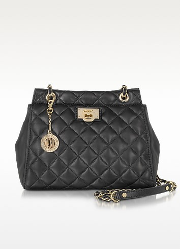 Gansevoort Quilted Nappa Large Crossbody Bag - DKNY