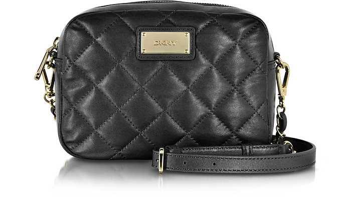 Gansevoort Quilted Leather Chain Camera Bag - DKNY