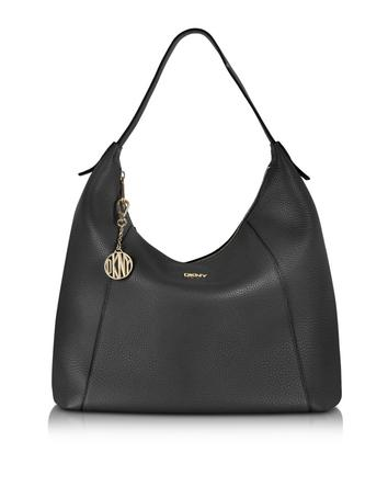 Tribeca Leather Large Hobo Bag