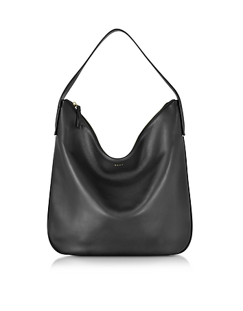 DKNY - Greenwich Smooth Leather Hobo Bag