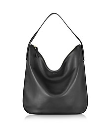 Greenwich Smooth Leather Hobo Bag - DKNY