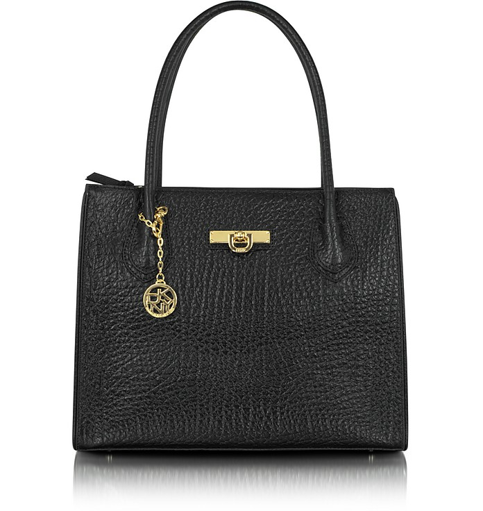 Beekman - French Grain Leather Tote Bag - DKNY