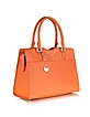 Saffiano Leather Signature Tote - DKNY