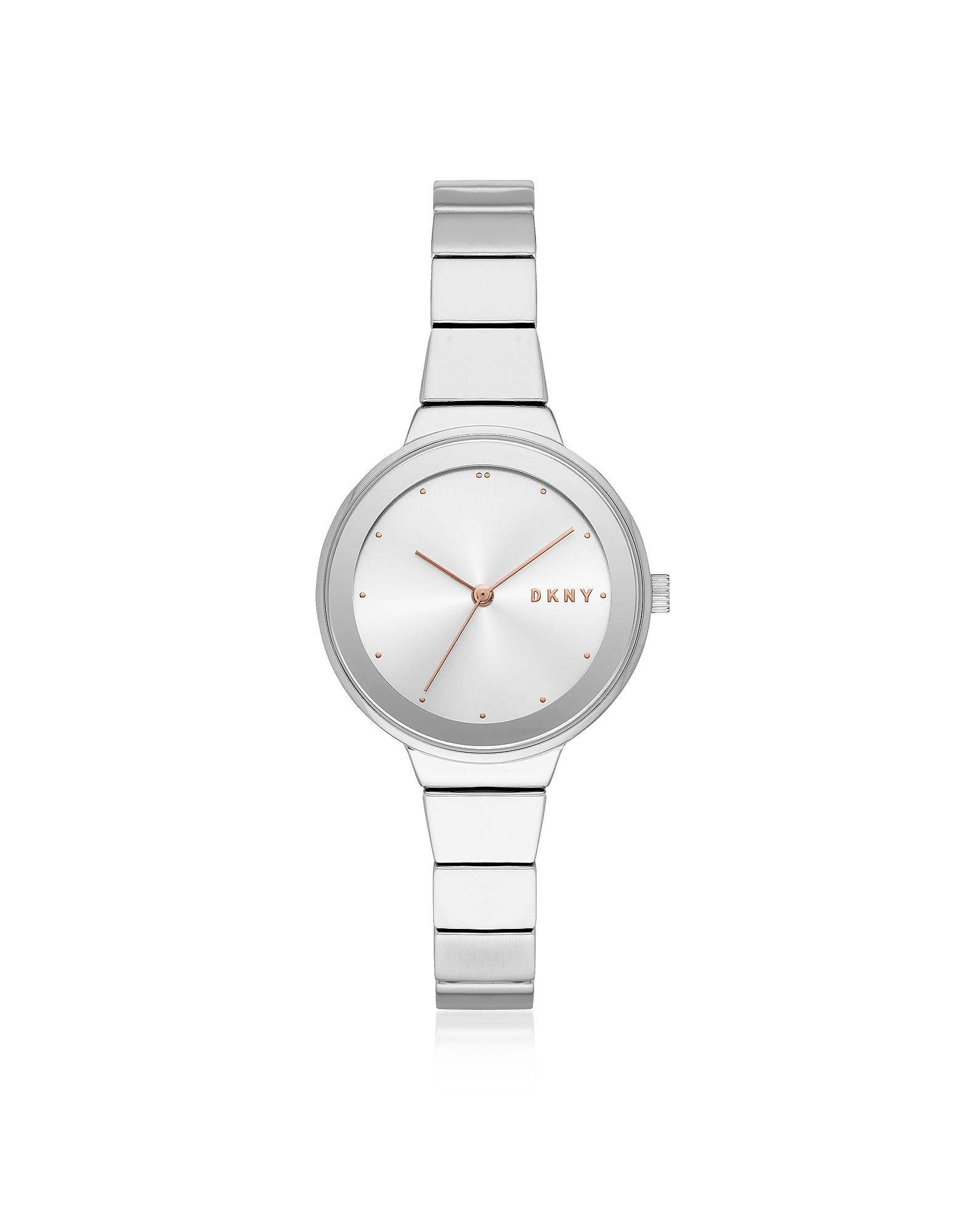Серебристые Женские Часы Astoria DKNY