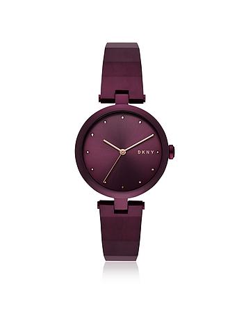 DKNY Eastside Purple Tone Bangle Women's Watch