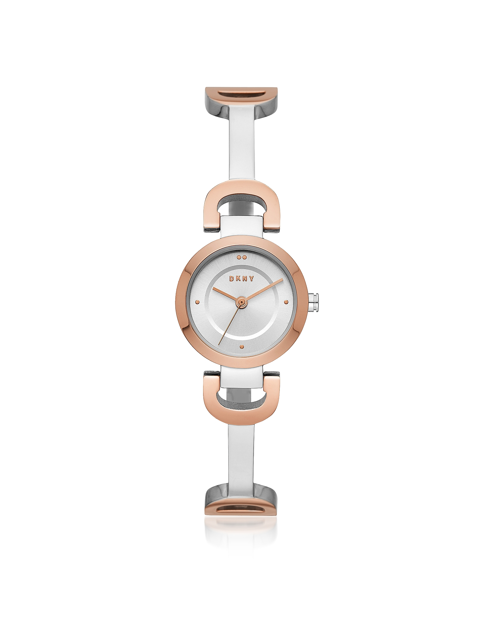 City Link Two Tone Bangle Women's Watch