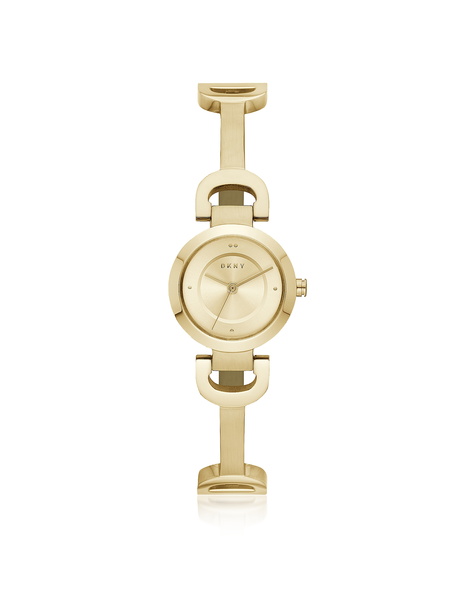 City Link Gold Tone Bangle Women's Watch