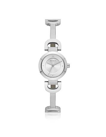 City Link Silver Tone Bangle Women's Watch