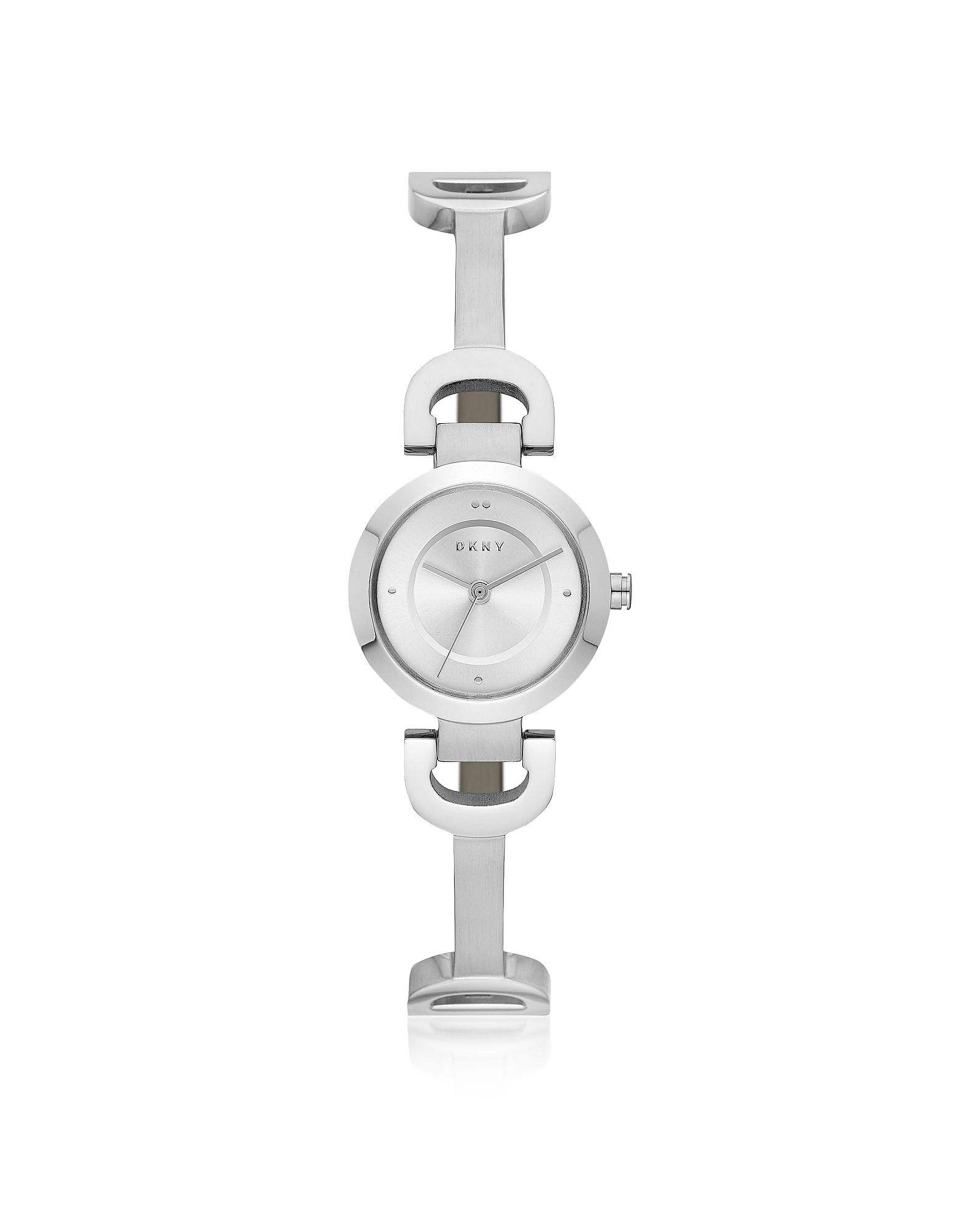 DKNY Women's Watches, City Link Silver Tone Bangle Women's Watch