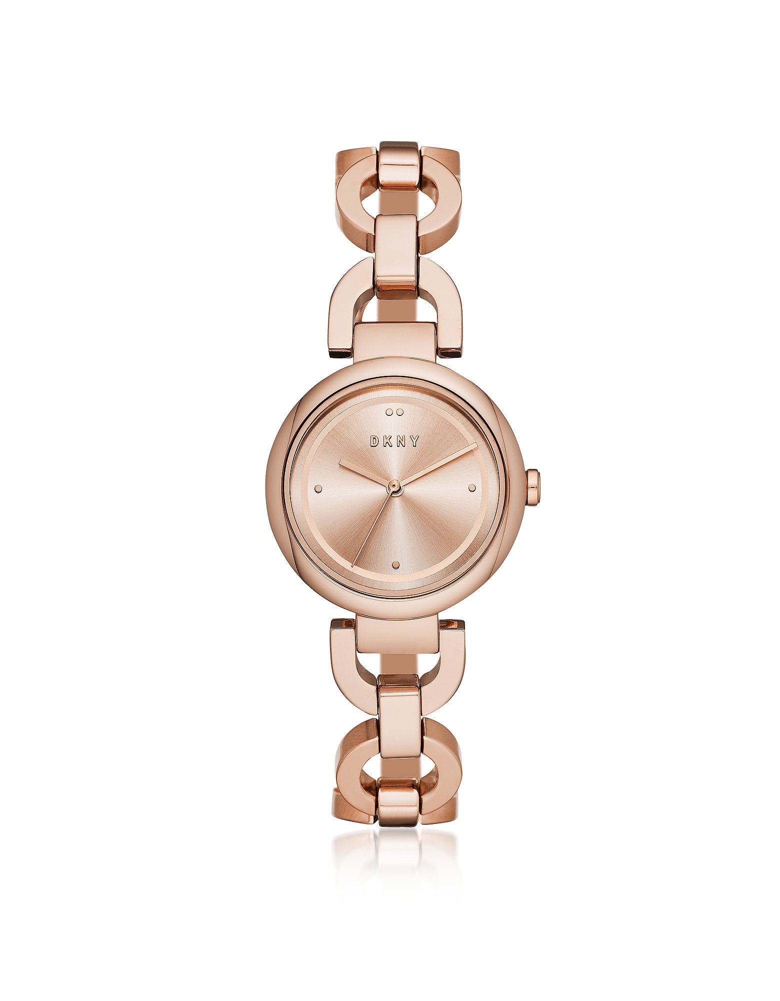 Eastside Rose Tone Stainless Steel Bracelet Watch