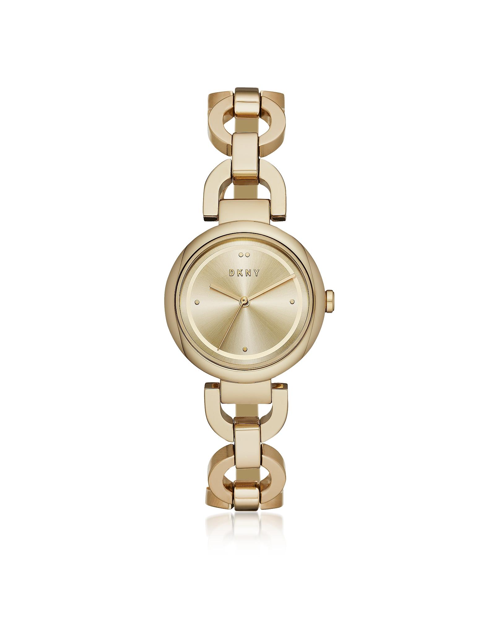 Eastside Gold Tone Stainless Steel Bracelet Watch