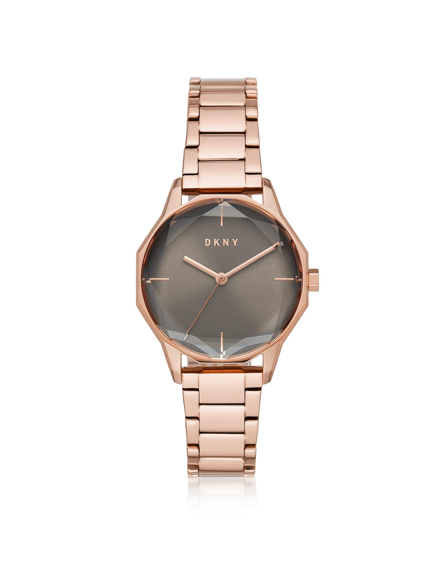 Cityspire - Круглые Часы из Нержавеющей Стали Оттенка Розового Золота DKNY