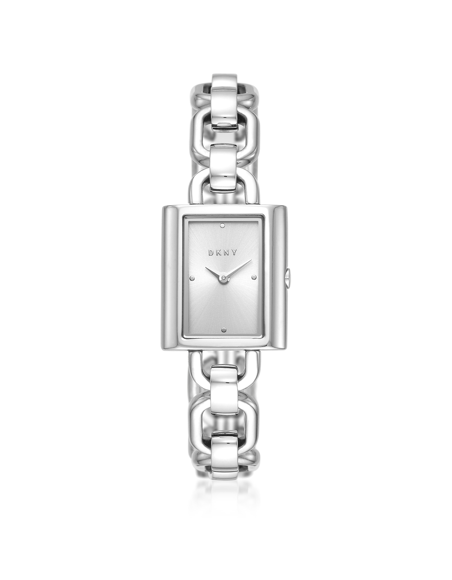 Uptown Stainless Steel Chain Watch