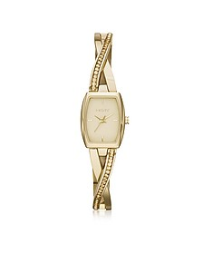 Crosswalk Stainless Steel Women's Watch - DKNY