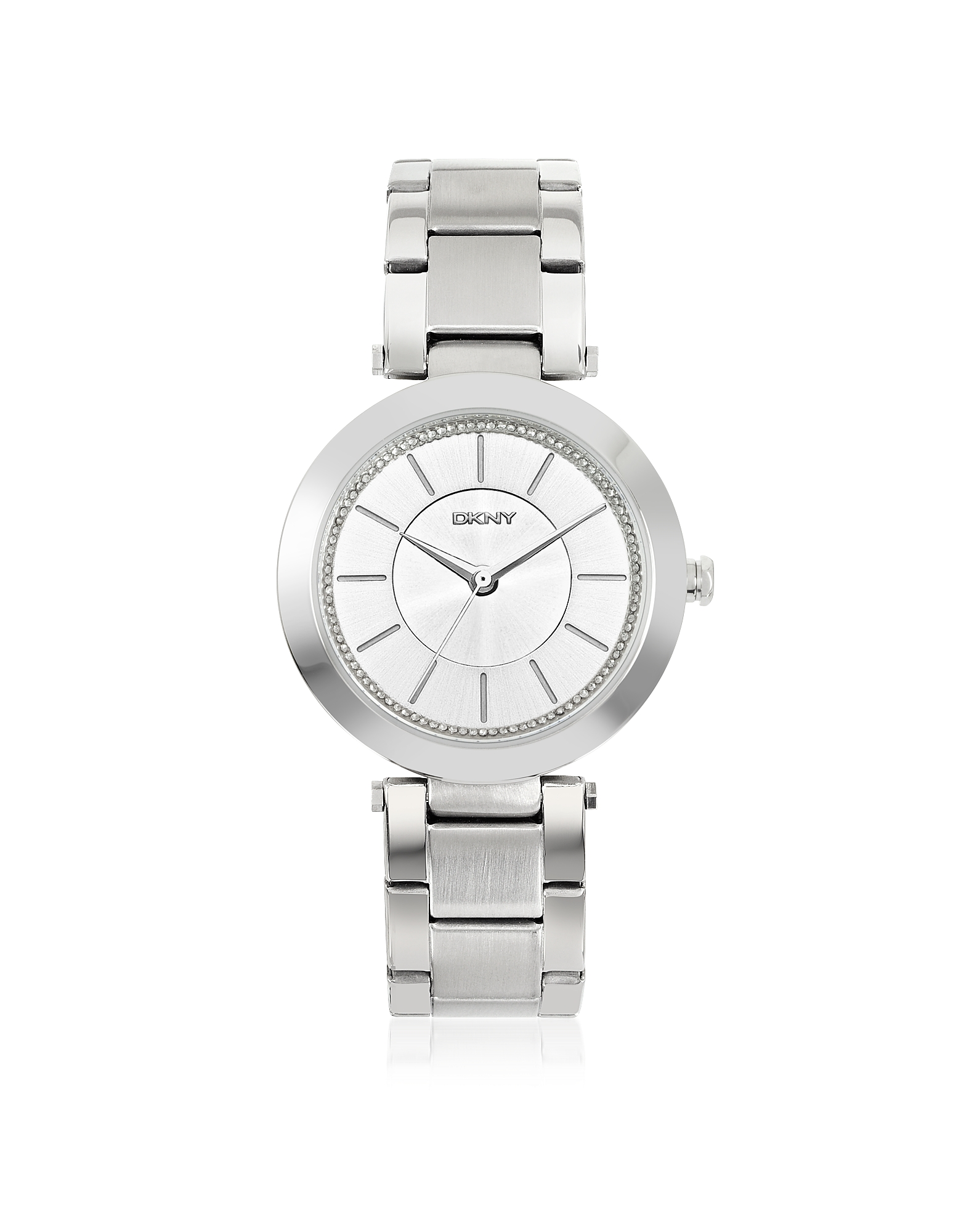 DKNY Women's Watches, Stanhope Silver Tone Stainless Steel Women's Watch