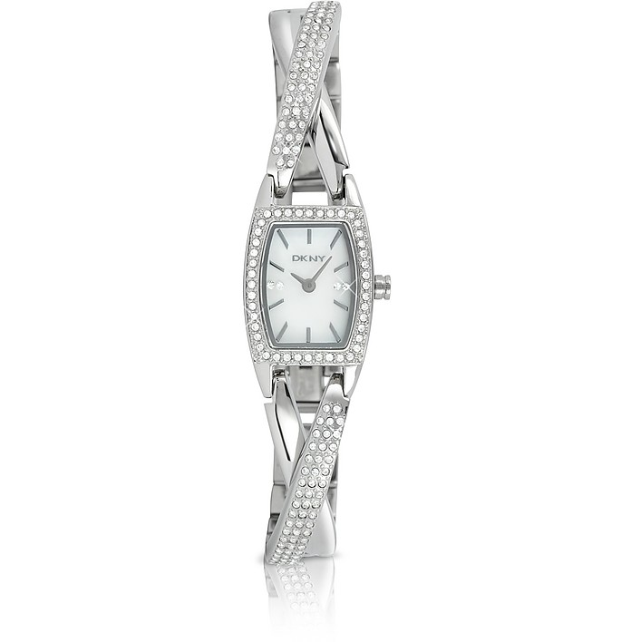 Crystal Frame Bracelet Watch - DKNY