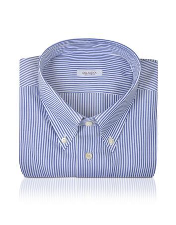 Del Siena Baumwollhemd mit Streifen