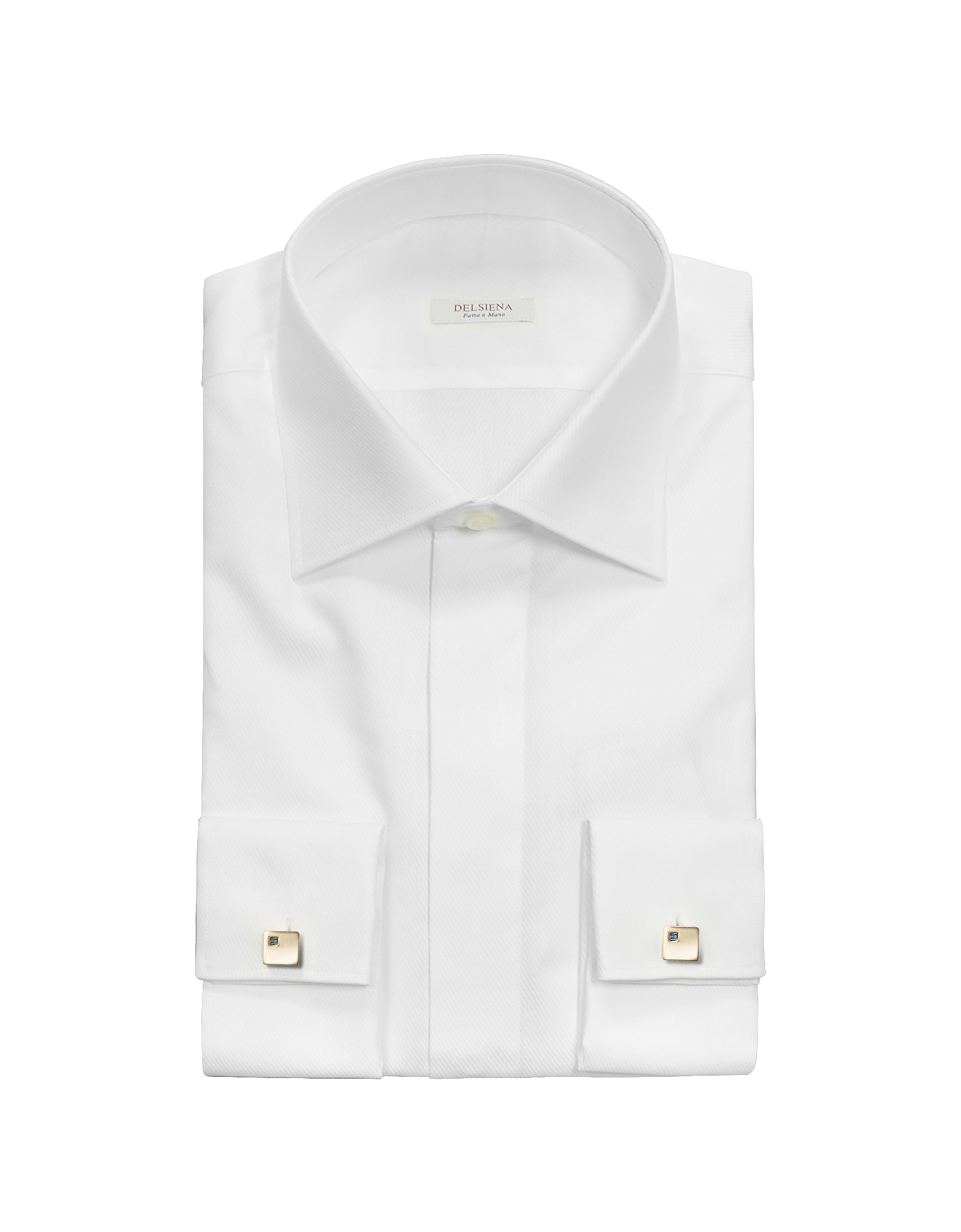 French Cuff Cotton Dress Shirt от Forzieri.com INT