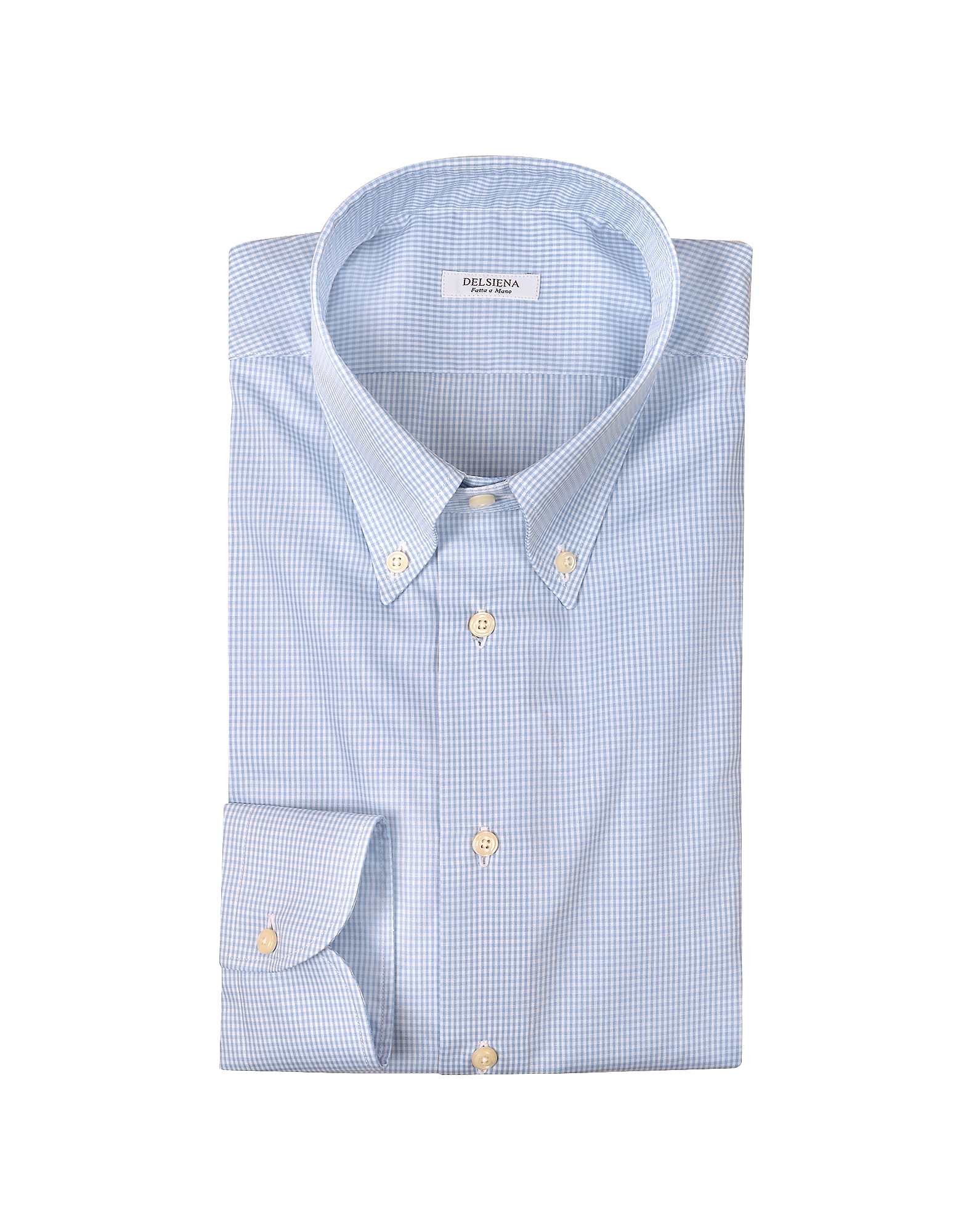 Blue Check Dress Shirt от Forzieri.com INT