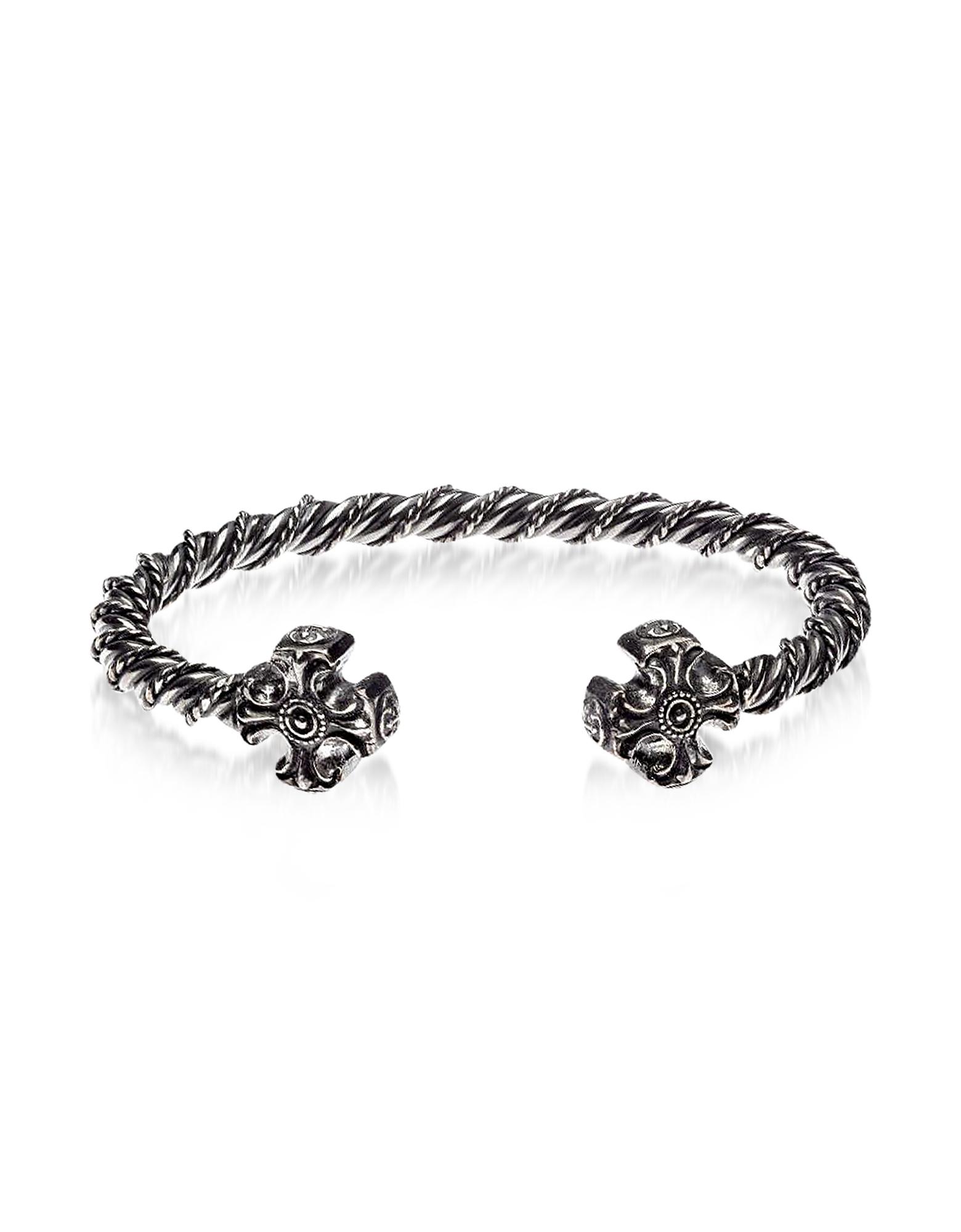 Gothic Knitted Bracelet