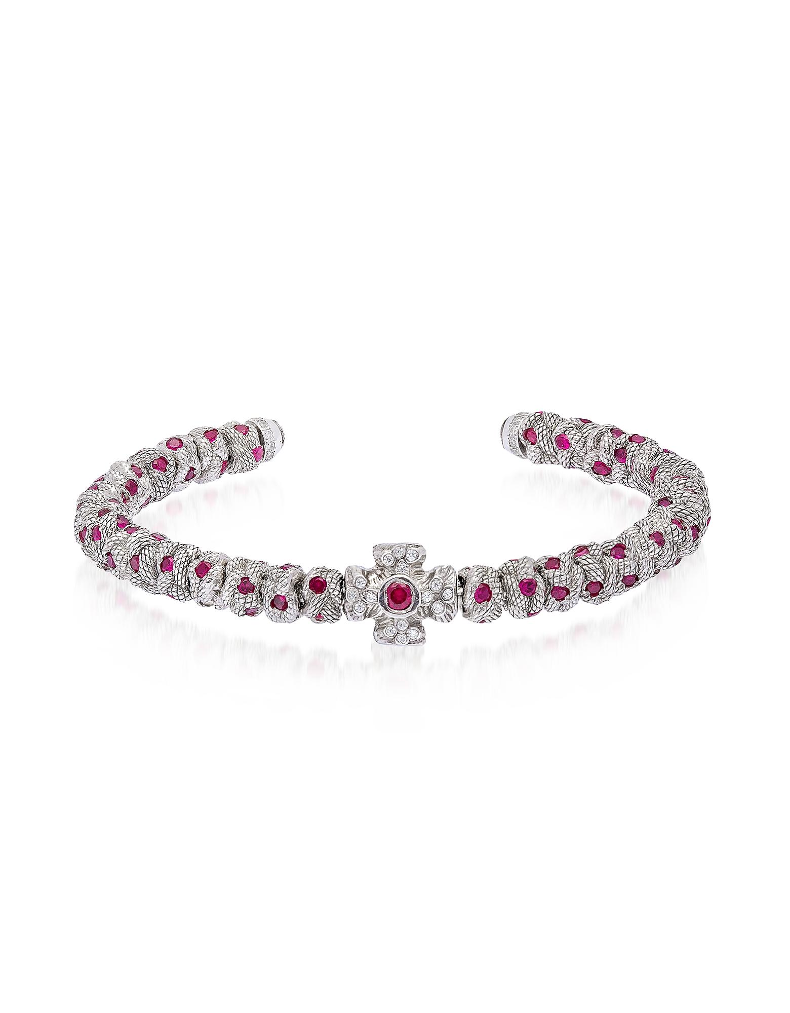 Red Passion Bracelet w/Zircons
